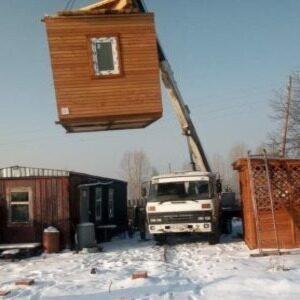 Доставка дачного домика