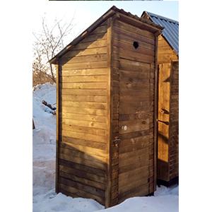 Туалет простой