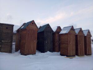 Туалет деревянный Кемерово